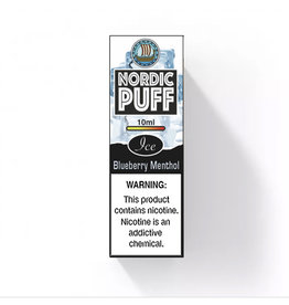 Nordic Puff Ice - Bleuberry & Menthol