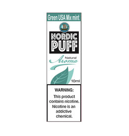 Nordic Puff Aroma - Green USA Mix mint