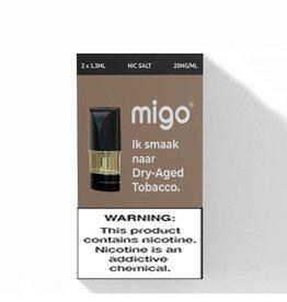 Migo Pods - Tabak im trockenen Alter - 2 Stk