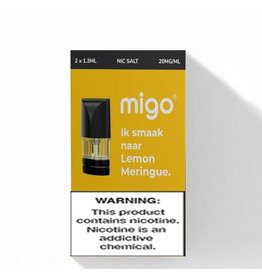 Migo Pods -  Lemon Meringue - 2Pcs