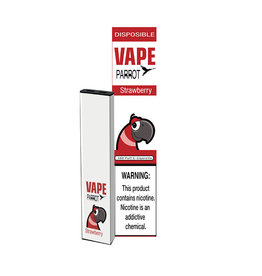Parrot Vape Disposable - Strawberry - 380Puff