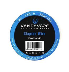 Vandy Vape - KA1 Clapton Wire KA1/26ga+32ga - 10ft