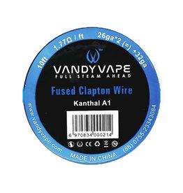 Vandy Vape - KA1 verschmolzenes ClaptonWire KA1 / 26ga * 2 (=) + 32ga 10ft