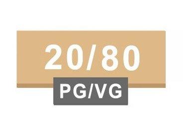 20/80 PG/VG