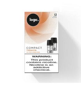 Logic Compact Pod - Tobacco - 2 Pcs