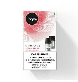 Logic Compact Pod - Strawberry - 2Pcs