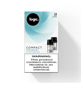 Logic Compact Pod - Spearmint - 2Pcs