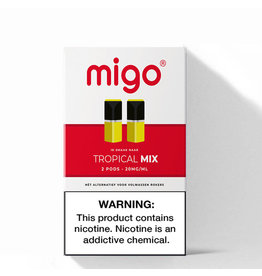 Migo Pods - Tropical Mix -2Pcs