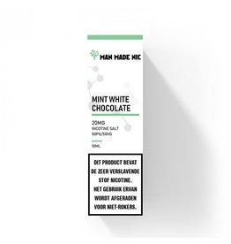 "Man Made Nic - Minze Weiße Schokolade ""Nic Salt"""