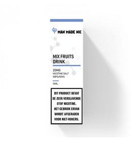 "Man Made Nic - Mix Fruits Drink ""Nic Salt"""