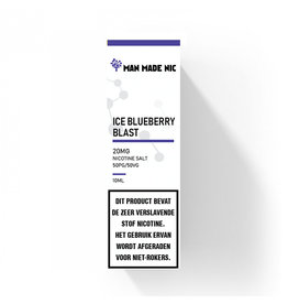 "Man Made Nic - Ice Blueberry Blast ""Nic Salt"""