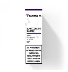 "Man Made Nic - Blackcurrant & Grape ""Nic Salt"""