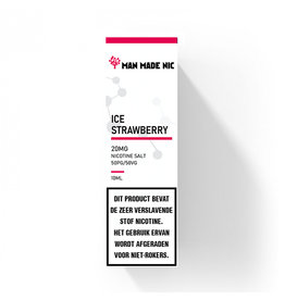 "Man Made Nic - Ice Strawberry ""Nic Salt"""