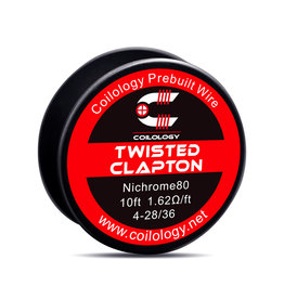 Coilology Prebuilt Wire - Twisted Nichrome80  /FT 4-28 - 10FT
