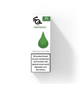 EQ - Nori Tobacco (Nic Salt) 2%