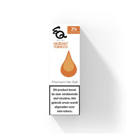 EQ - Haselnusstabak (Nic Salt) 2%