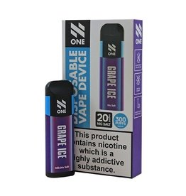 N-One Disposable Pod - Grape Ice - 300 Puff