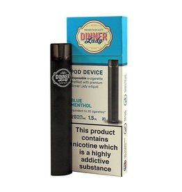Dinner Lady Disposable POD Device Blue Menthol