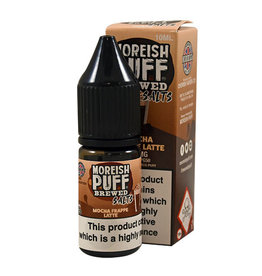 Moreish Puff Brewed Nic Salt Mocha Frappe Latte
