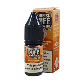 Moreish Puff Brewed Nic Salt Salted Caramel Macchiato