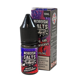 Moreish Puff Nic Salt Candy Drops Grape & Strawberry