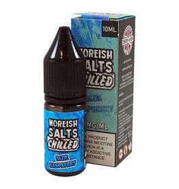 Moreish Puff Nic Salt Chilled Blue Raspberry