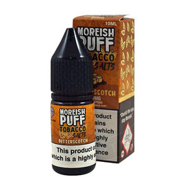 Moreish Puff Tobacco Nic Salt Butterscotch