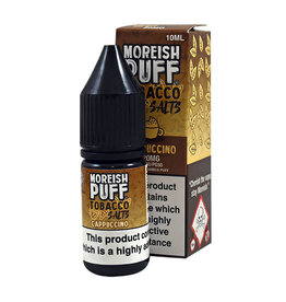 Moreish Puff Tobacco Nic Salz Cappuccino