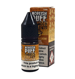 Moreish Puff Tobacco Nic Salt Honey and Creme