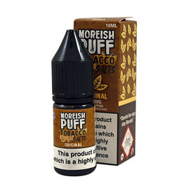 Moreish Puff Tobacco Nic Salt Original