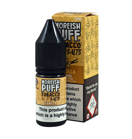 Moreish Puff Tobacco Nic Salt Vanilla