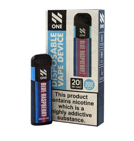 N-One Disposable Pod - Blue Raspberry - 300 Puff