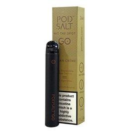 Pod Salt Disposable Vape Device Cuban Creme