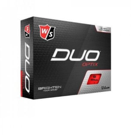 Wilson Wilson Staff Golfballen Duo Optix, Dozijn (dx2)