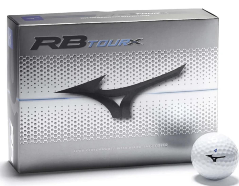 Mizuno Mizuno RB tour X Dozijn Golfballen Wit