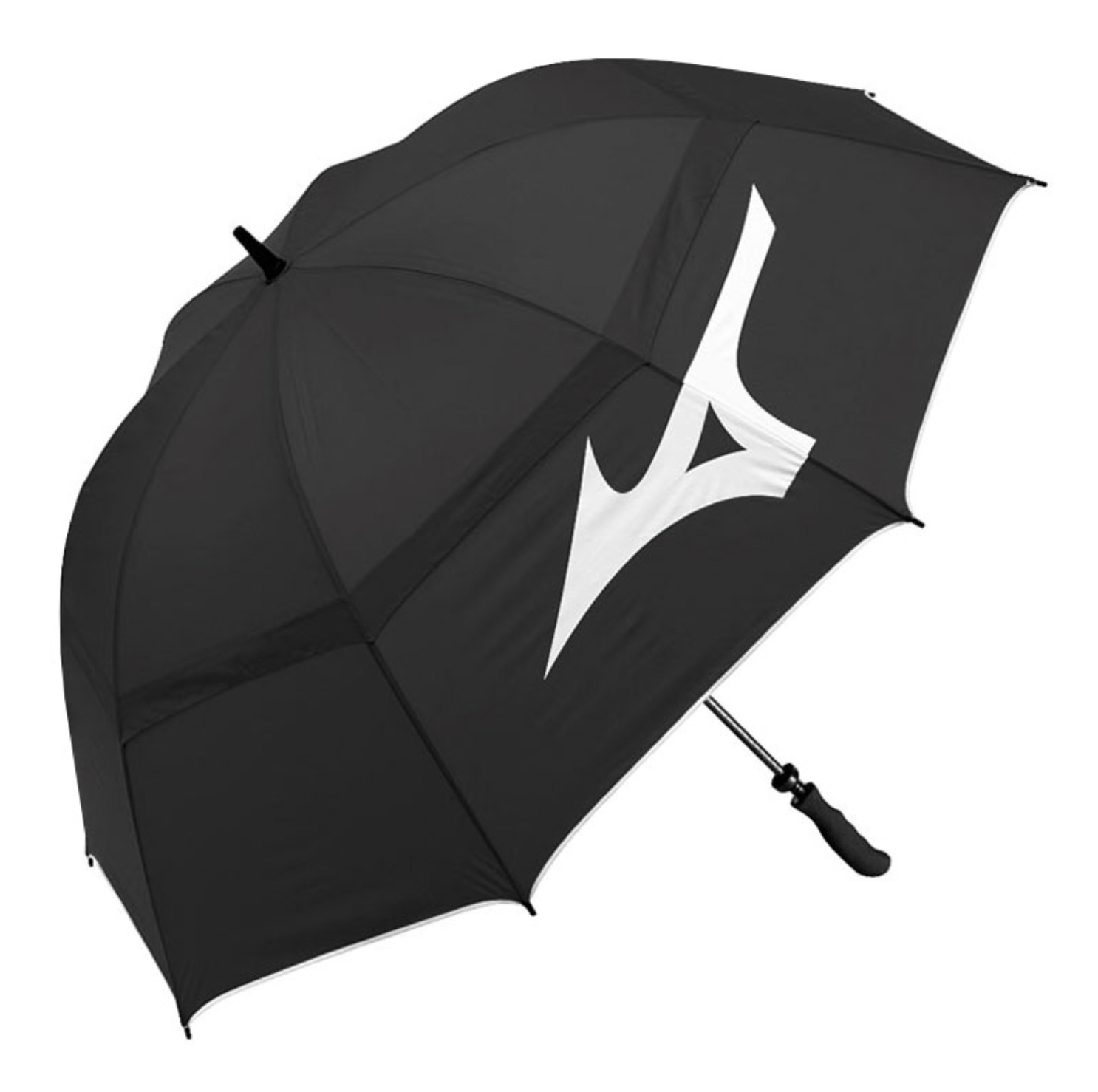 Mizuno Mizuno Tour Twin Canopy Golf Paraplu, Zwart