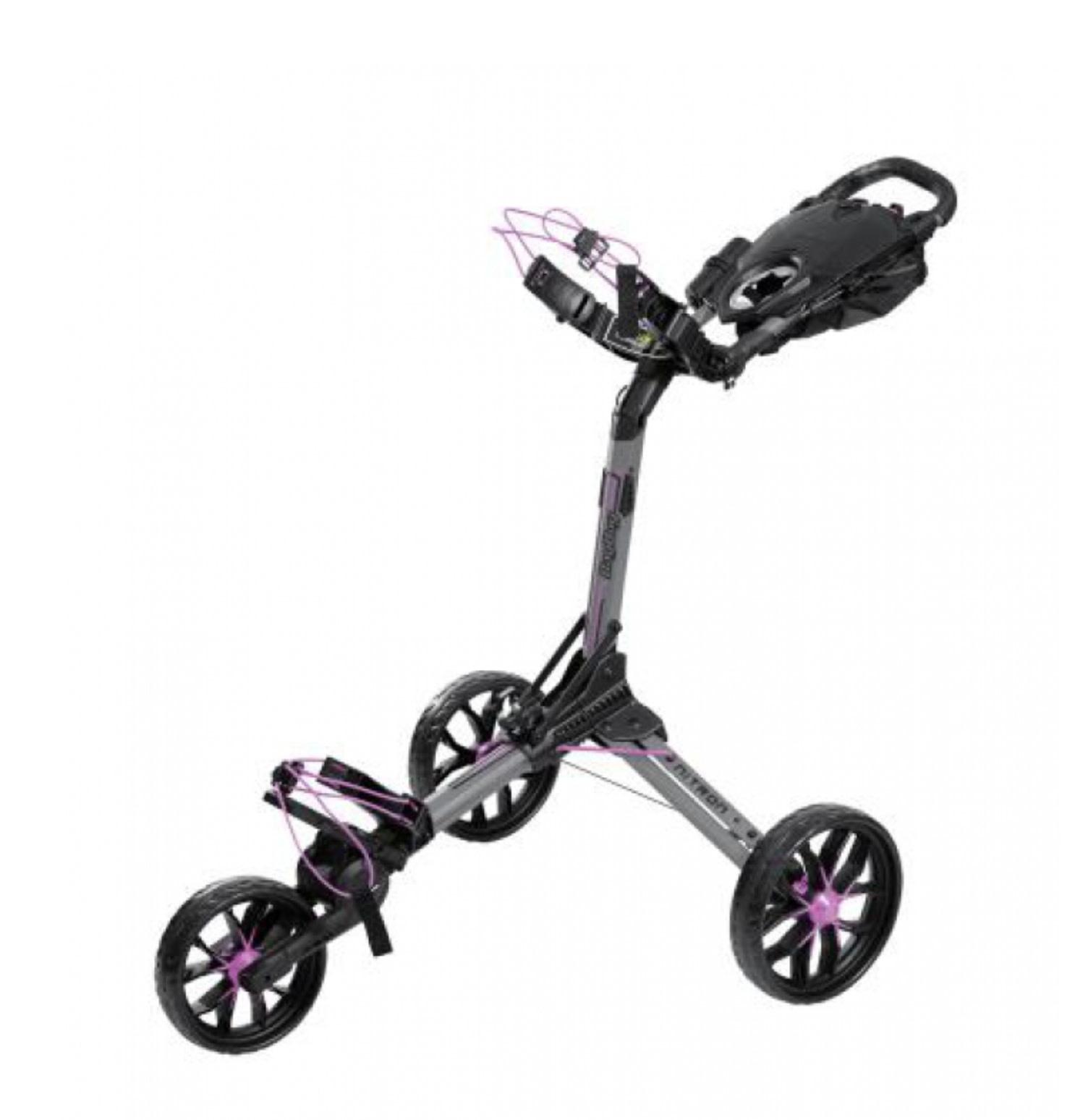 Bagboy Trolley BagBoy Nitron 2020 battle grey / pink