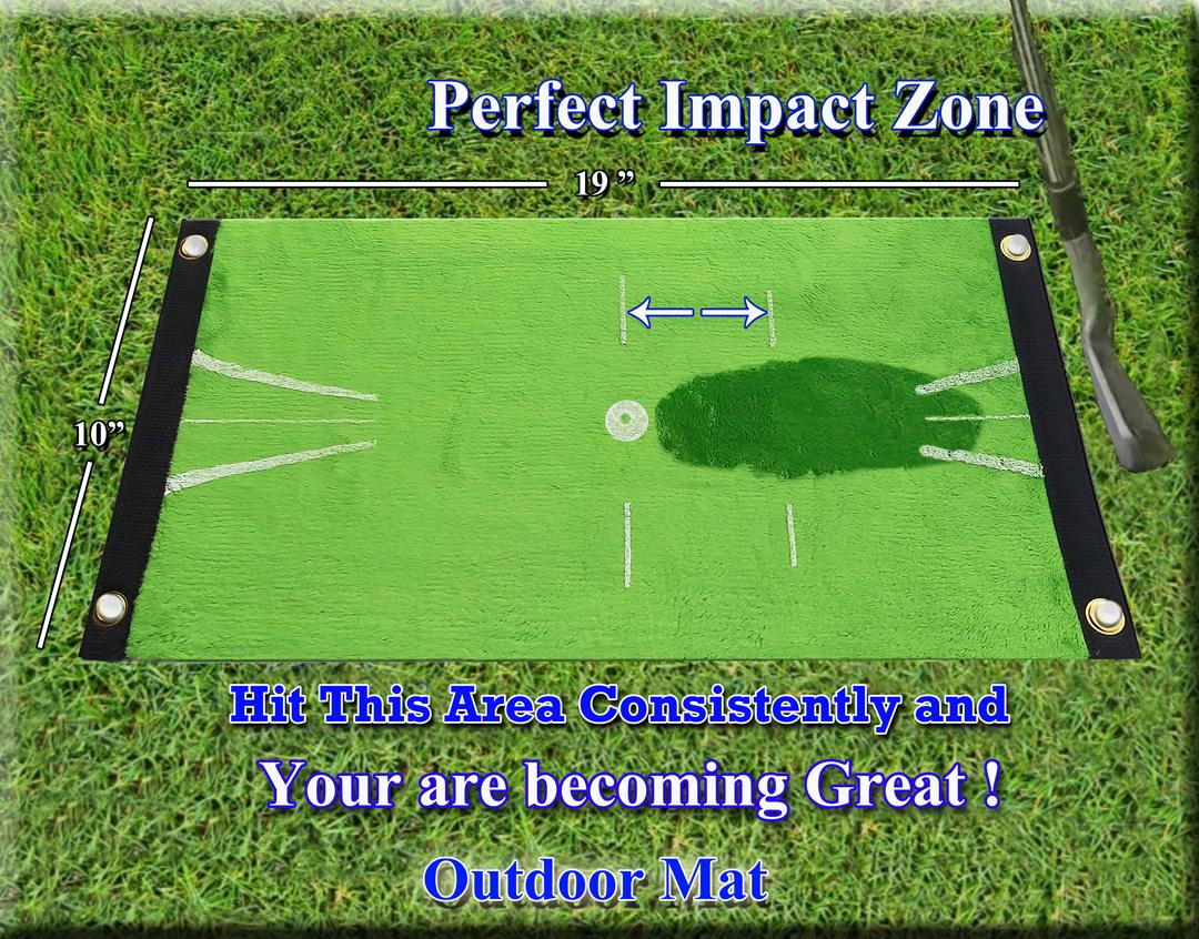 Acu-Strike Acu-Strike Golf Impact Training Mat, Indoor