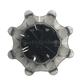 Titleist Pulsar golf Softspikes fast twist 3,0 donker grijs/zwart 18 stuks