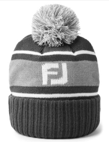 Footjoy FootJoy FJ Pom Pom Beanies hat, muts, grijs