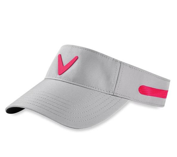 Callaway Callaway Ladies Opti Vent Adjustable Visor 2020 grijs/roze