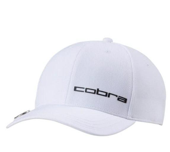 Cobra Cobra Golf Ball Marker Fitted Cap White