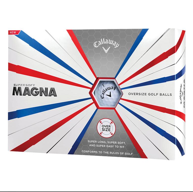 Callaway Callaway Supersoft Magna Golfballen wit