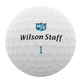 Wilson Wilson Women's Duo soft + Dames golfbal dozijn