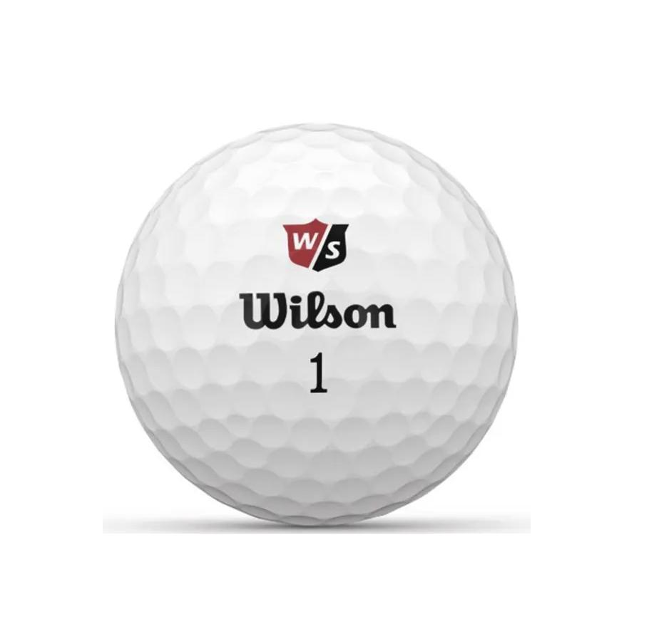 Wilson Wilson Duo soft + golfbal dozijn wit