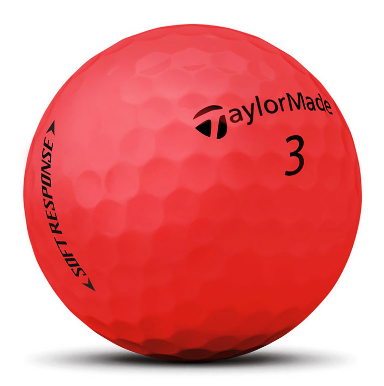 Taylor Made TaylorMade Soft Response golfballen rood