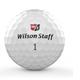 Wilson Wilson Staff Duo Professional dozijn golfballen wit