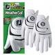 Footjoy Footjoy Weathersof heren golf handschoen Links wit dubbel pack (2 stuks)