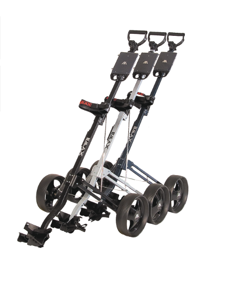 Big Max basic golftrolley zwart 2 wiel