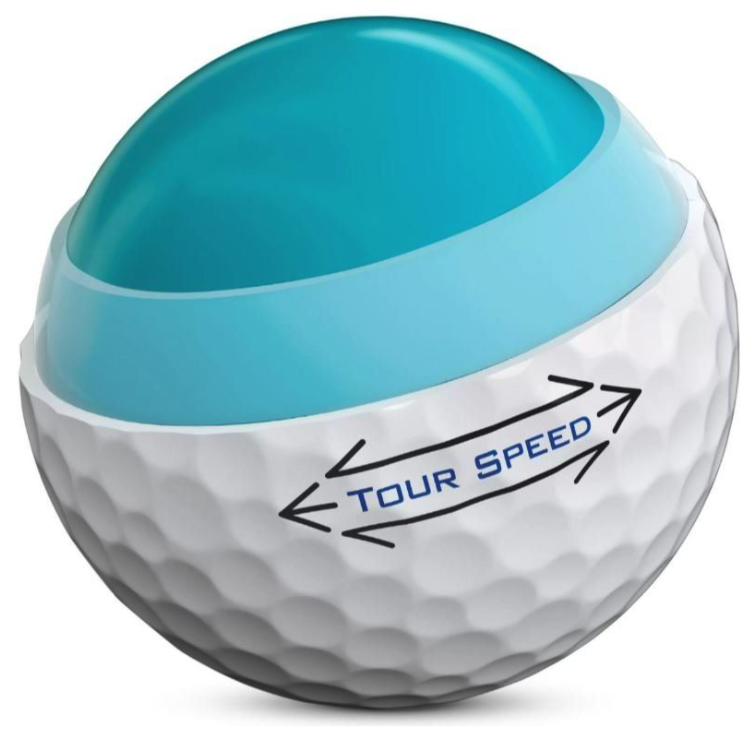 Titleist Titleist Tour Speed dozijn golfballen wit